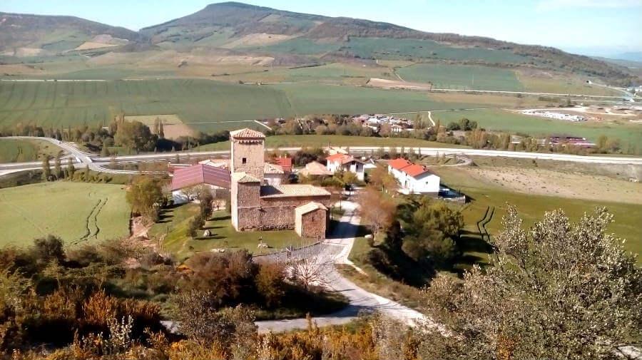 Vista de Otano, Navarra - Camino Aragonés :: Guía del Camino de Santiago
