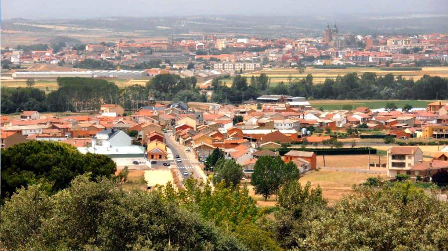 San Justo de la Vega, León - Camino Francés (Etapa de Villadangos del Páramo a Astorga) :: Guía del Camino de Santiago