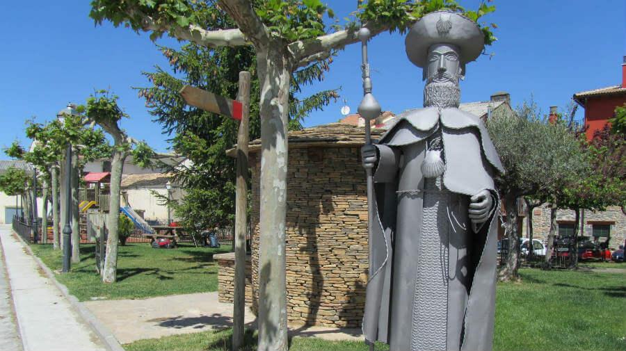 Monumento al peregrino, Santa Cilia de Jaca - Camino Aragonés :: Guía del Camino de Santiago