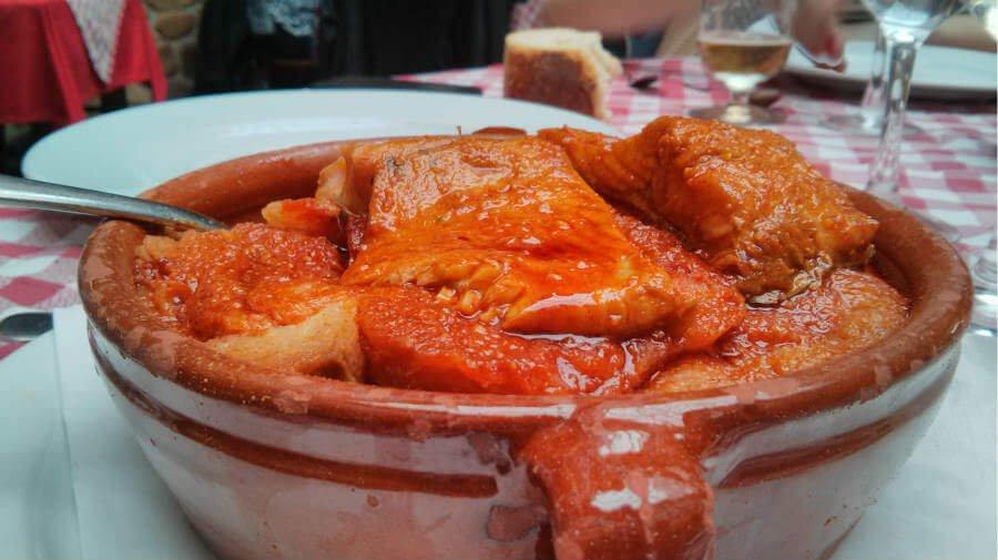 Sopa de trucha leonesa - Gastronomía en el Camino Francés :: Guía del Camino de Santiago