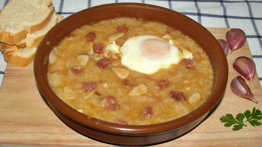 Sopa Castellana - Gastronomía en el Camino Francés :: Guía del Camino de Santiago