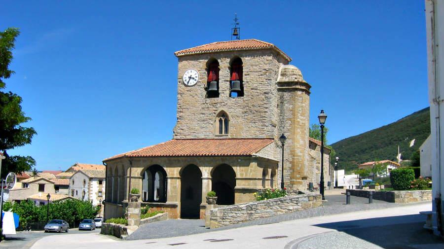 Iglesia de Santa Eufemia, Tiebas, Navarra - Camino Aragonés :: Guía del Camino de Santiago