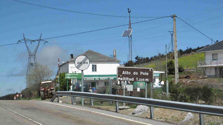 Alto do Poio, Lugo - Camino Francés :: Guía del Camino de Santiago