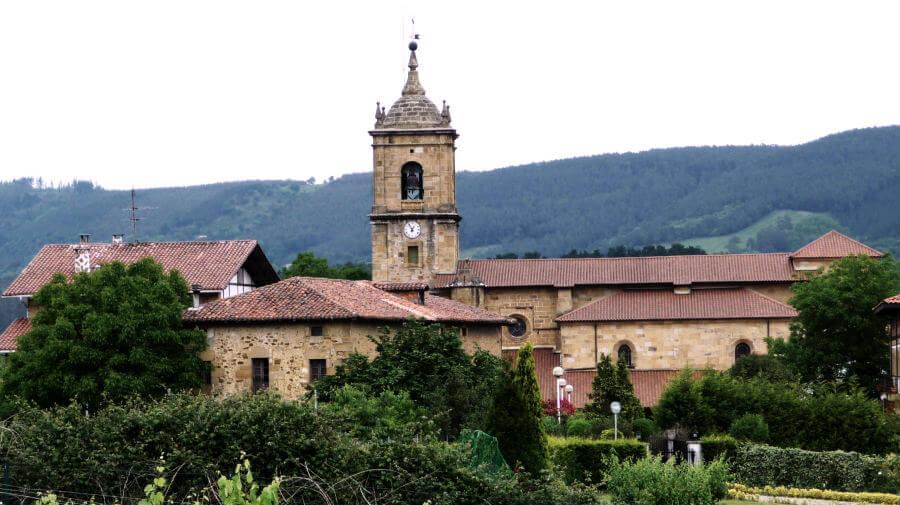 Vista de Lezama, Vizcaya - Camino del Norte :: Albergues del Camino de Santiago
