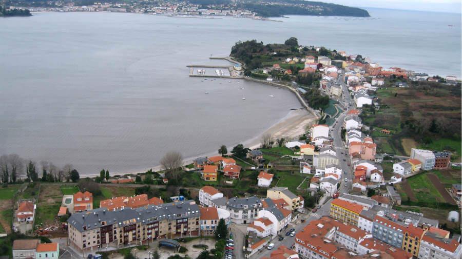 Vista de Miño (La Coruña)- Camino Inglés :: Guía del Camino de Santiago