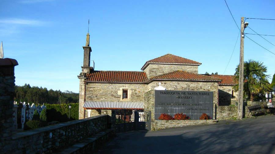 Iglesia de Santa María, Presedo - Camino Inglés :: Guía del Camino de Santiago