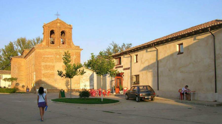 San Nicolás del Real Camino, Palencia - Camino Francés (Etapa de Ledigos a Sahagún) :: Guía del Camino de Santiago