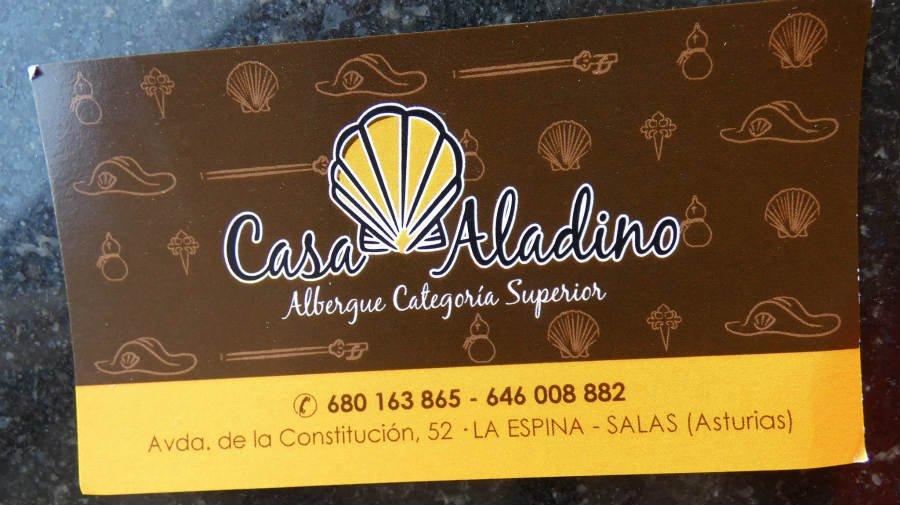 Albergue de peregrinos Casa Aladino, La Espina, Asturias - Camino Primitivo :: Albergues del Camino de Santiago