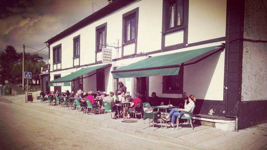 Albergue Casa Marqués, Berducedo, Asturias - Camino Primitivo :: Albergues del Camino de Santiago