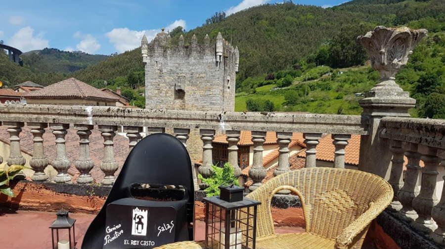 Albergue El Rey Casto, Salas, Asturias - Camino Primitivo :: Albergues del Camino de Santiago
