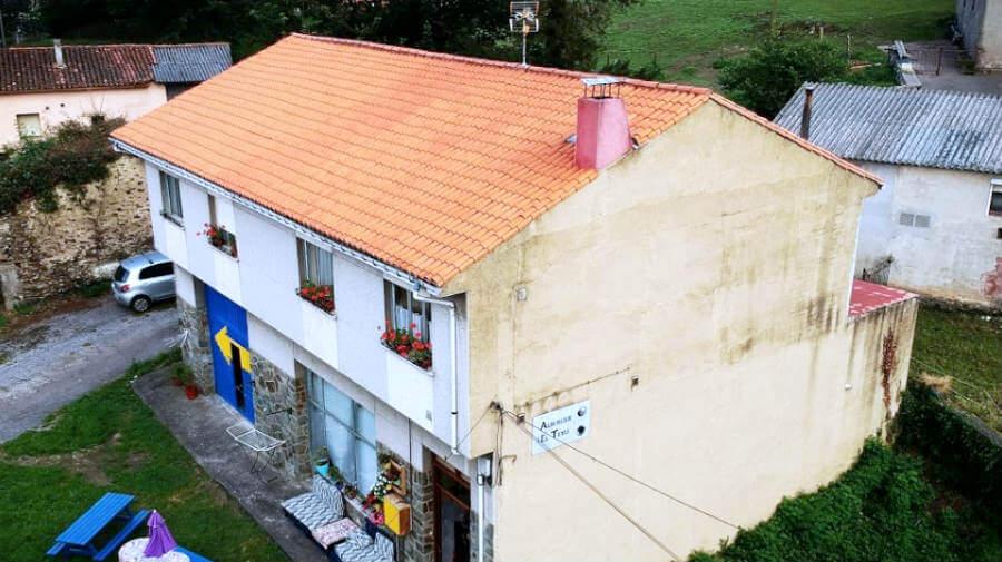 Albergue de peregrinos El Texu, La Espina, Asturias - Camino Primitivo :: Albergues del Camino de Santiago