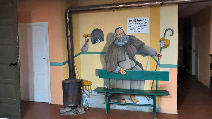 Albergue O Cándido, San Román da Retorta, Lugo - Camino Primitivo :: Albergues del Camino de Santiago