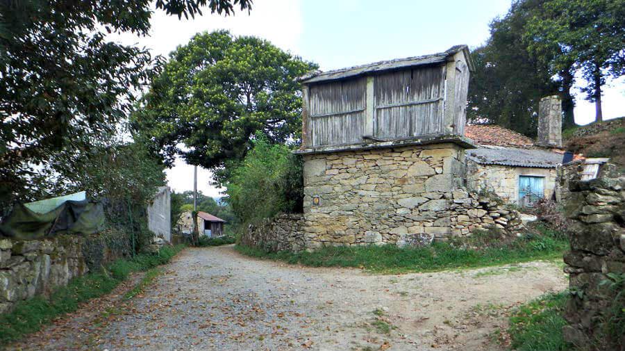 As Seixas-Merlán, Lugo - Camino Primitivo :: Guía del Camino de Santiago
