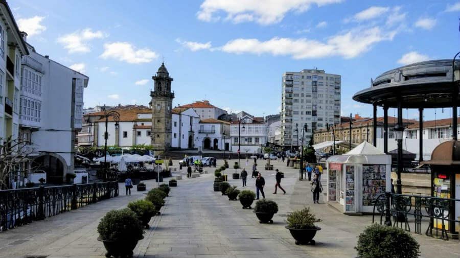 Betanzos, Camino Inglés :: Guía del Camino de Santiago