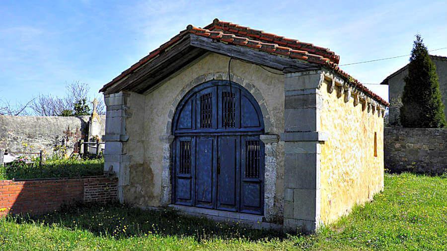 Iglesia de Santa María Magdalena Cabruñana, Asturias - Camino Primitivo :: Guía del Camino de Santiago