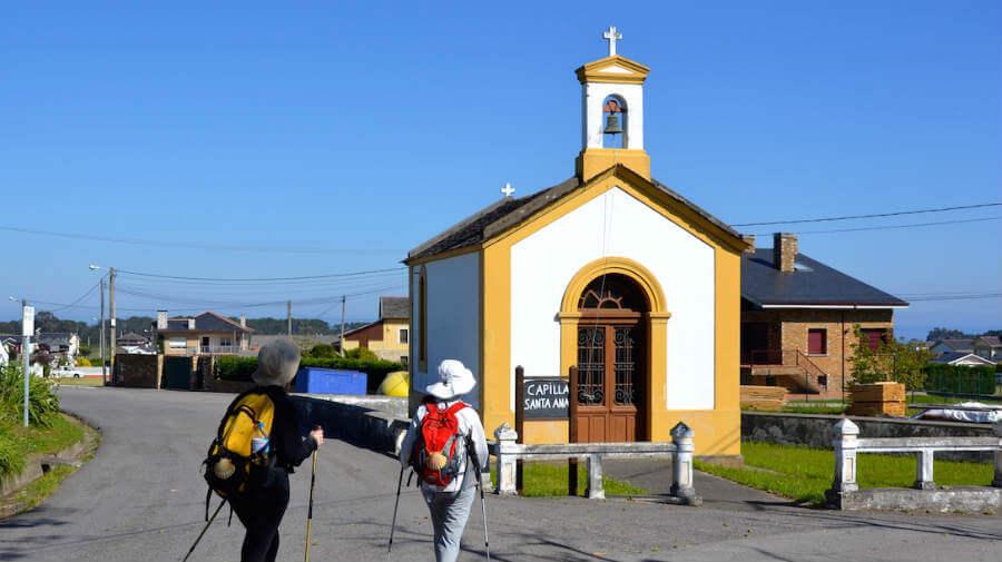 Capilla de Santa Ana, Querúas, Asturias - Camino del Norte :: Guía del Camino de Santiago