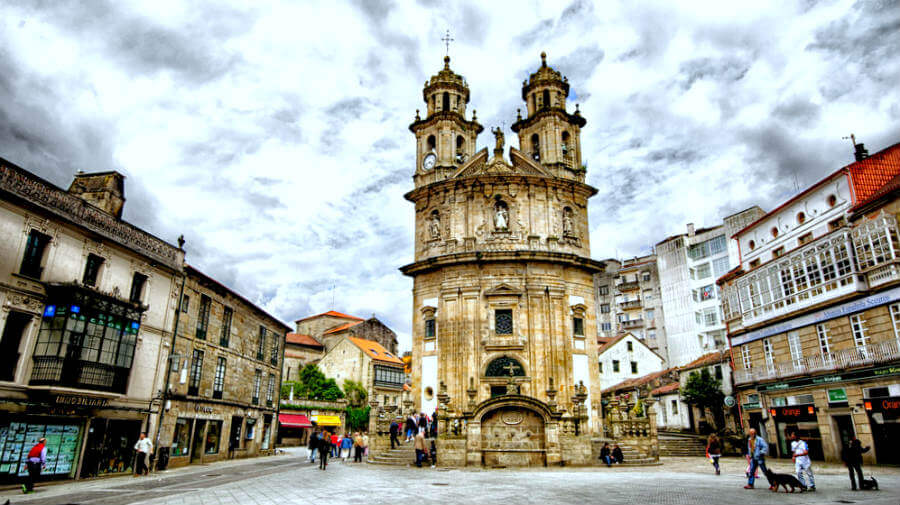 Iglesia de la Peregrina, Pontevedra :: Guía del Camino de Santiago