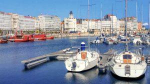 Puerto deportivo de La Coruña - Camino Inglés :: Guía del Camino de Santiago