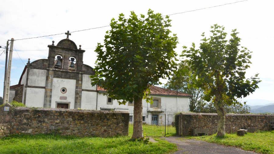 Iglesia de San Juan de Villapañada, Asturias - Camino Primitivo :: Guía del Camino de Santiago
