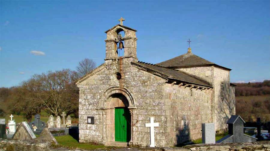 Iglesia románica de San Román da Retorta, Lugo - Camino Primitivo :: Guía del Camino de Santiago