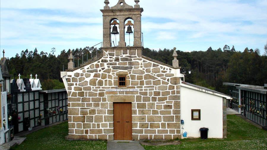 Iglesia de San Xián, Sergude-Carral - Camino Inglés :: Guía del Camino de Santiago