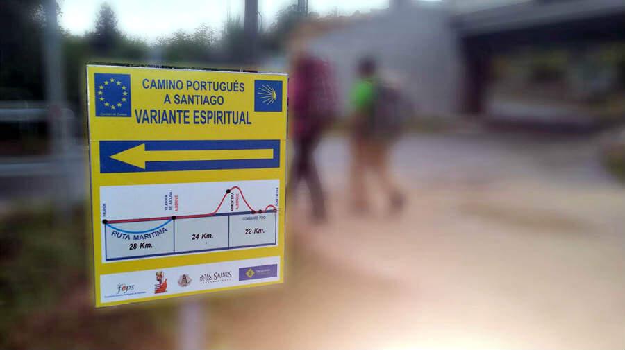 Etapas de la Variante Espiritual del Camino Portugués :: Guía del Camino de Santiago