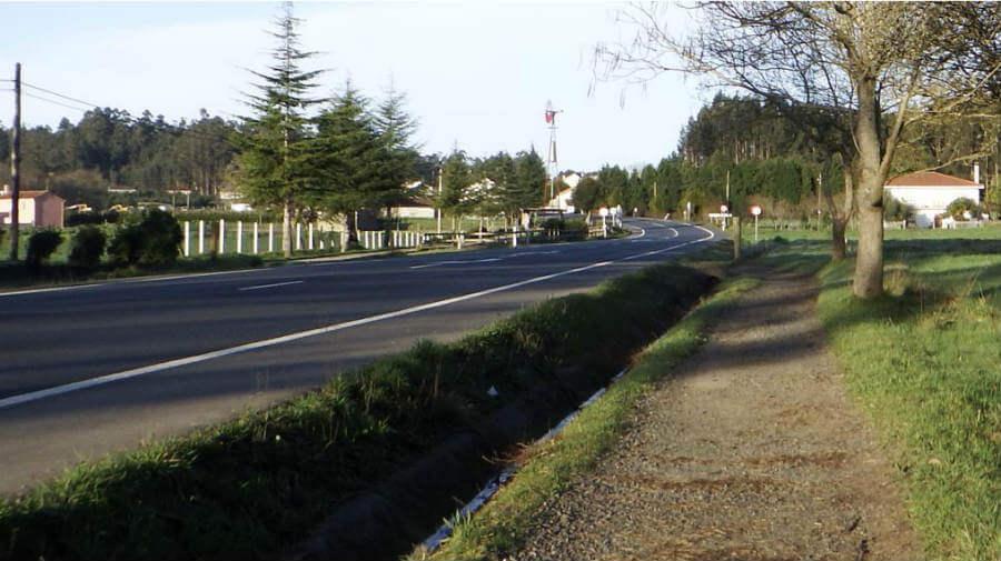 A Brea (O Pino), La Coruña - Camino Francés :: Guía del Camino de Santiago