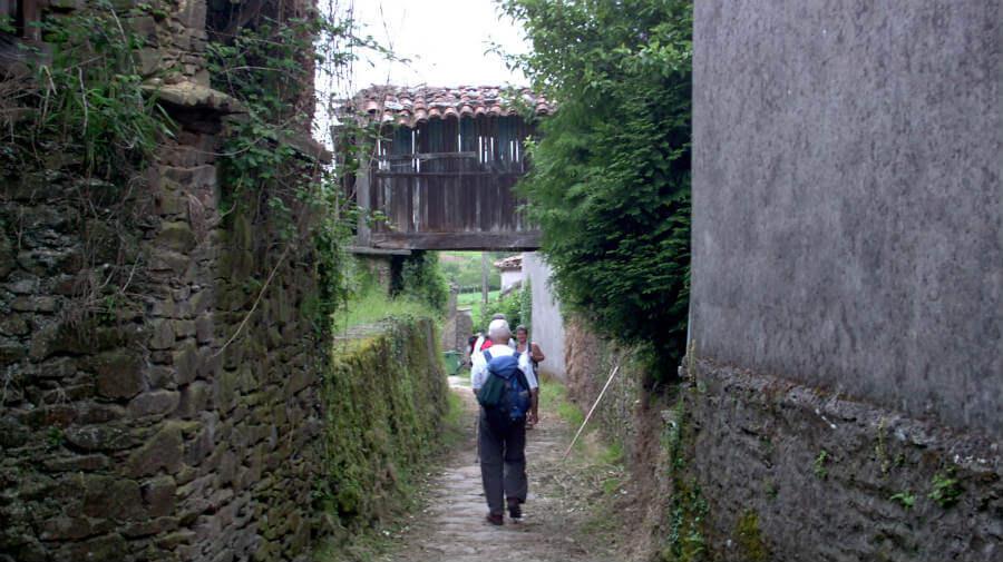 A Calle de Ferreiros, La Coruña - Camino Francés :: Guía del Camino de Santiago