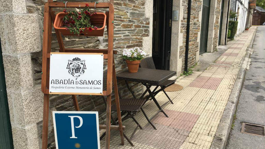 Hospedería Externa del Monasterio de Samos, Lugo - Camino Francés :: Alojamientos del Camino de Santiago