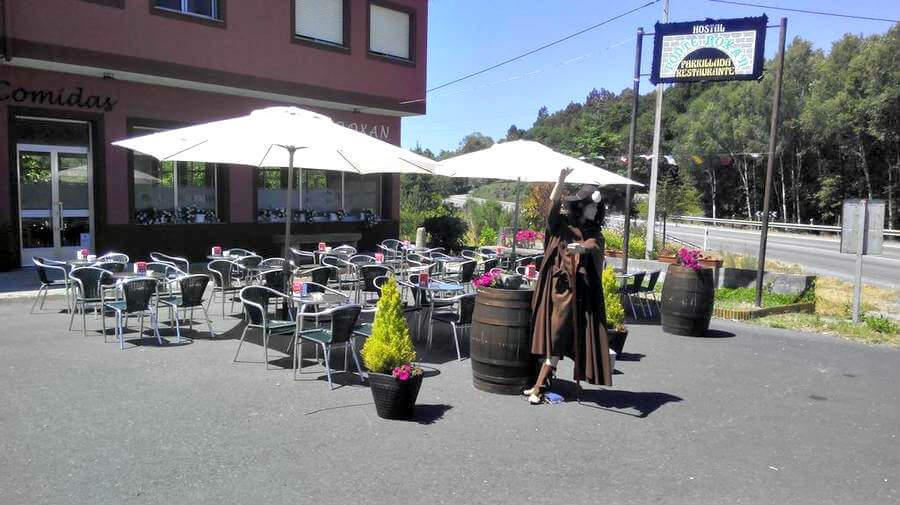 Hostal Ponterroxan, Palas de Rei, Lugo - Camino Francés :: Alojamientos del Camino de Santiago