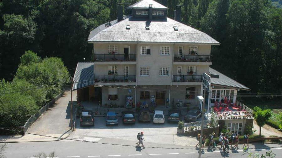 Hotel A Veiga Samos Lugo Alojamientos Del Camino De Santiago