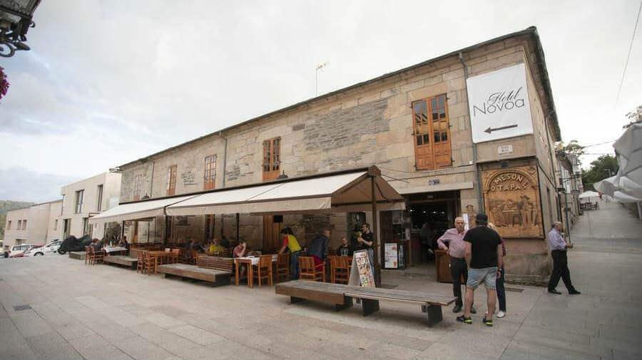 Hotel Novoa, Sarria - Camino Francés :: Alojamientos del Camino de Santiago