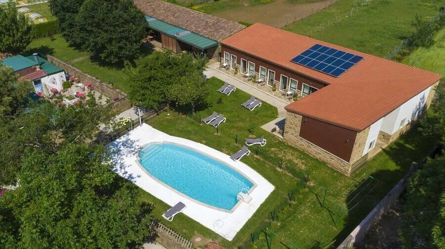 Hotel rural O Acivro, A Rúa, La Coruña - Camino Francés :: Alojamietnos del Camino de Santiago