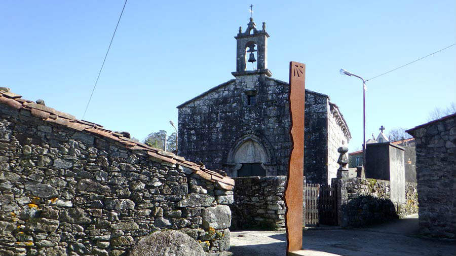 Iglesia de Santa María, Leboreiro, Lugo - Camino Francés :: Guía del Camino de Santiago