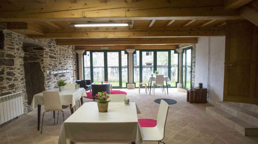 Pensión Casa da Fonte, A Rúa, La Coruña - Camino Francés :: Alojamientos del Camino de Santiago