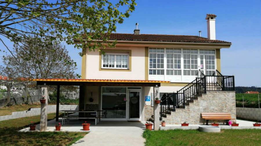 Pensión Diana, O Pedrouzo, La Coruña - Camino Francés :: Alojamientos del Camino de Santiago