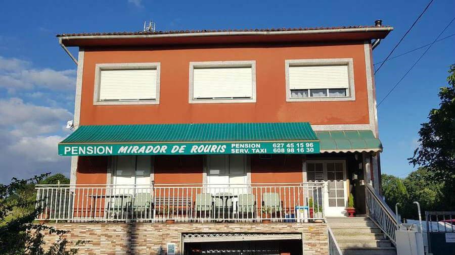 Pensión Mirador de Rouris, A Calle de Ferreiros, La Coruña - Camino Francés :: Alojamientos del Camino de Santiago