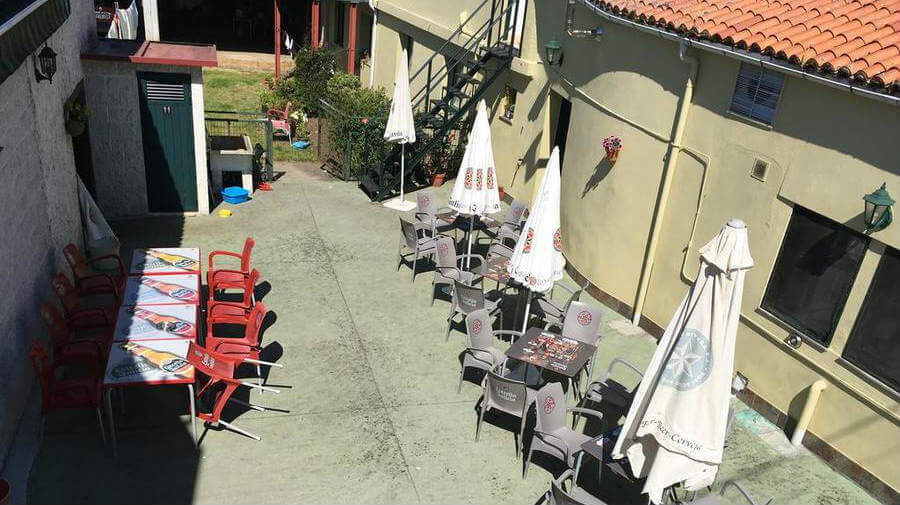 Pension O Mesón, A Brea, La Coruña - Camino Francés :: Alojamientos del Camino de Santiago