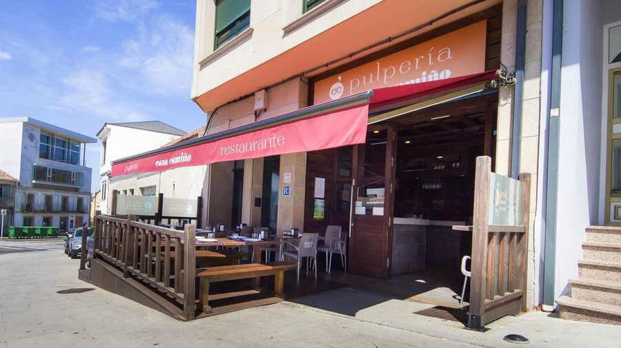 Pensión Restaurante Casa Camiño, Palas de Rei, Lugo - Camino Francés :: Alojamientos del Camino de Santiago
