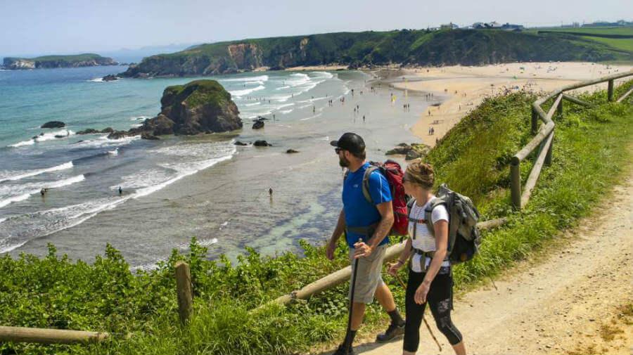 Peregrinos por el Camino del Norte o de la Costa :: Guía del Camino de Santiago