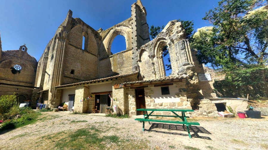 Hospital de peregrinos del Convento de San Antón, Castrojeriz, Burgos - Camino Francés :: Albergues del Camino de Santiago