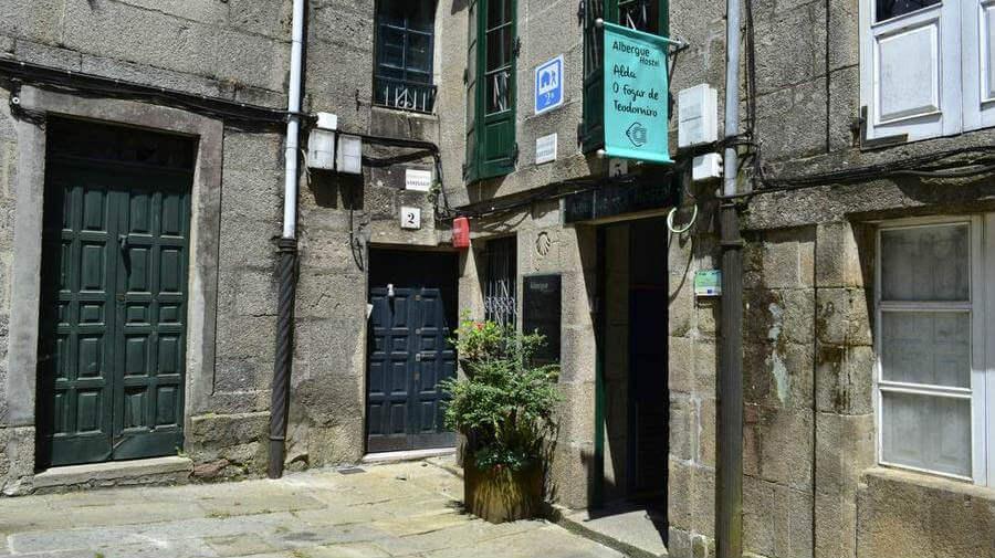 Albergue O Fogar de Teodomiro, Santiago de Compostela :: Albergues del Camino de Santiago