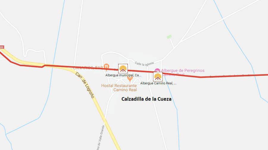 Albergues de peregrinos en Calzadilla de la Cueza, Palencia - Camino Francés :: Albergues del Camino de Santiago