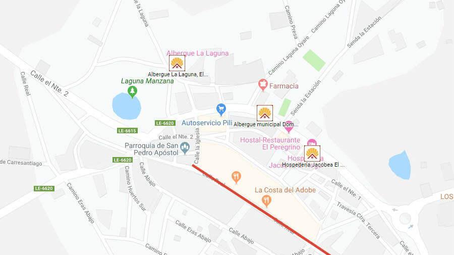 Albergues de peregrinos en El Burgo Ranero, León - Camino Francés :: Albergues del Camino de Santiago