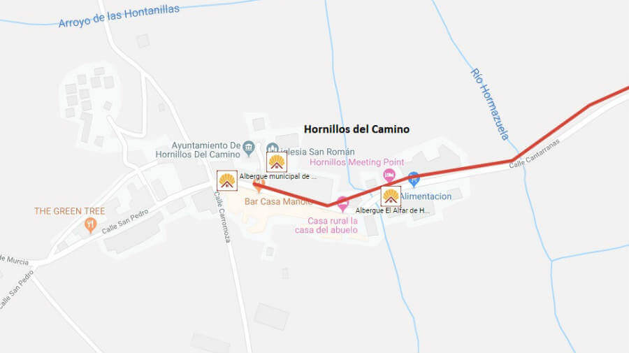 Albergues de peregrinos en Hornillos del Camino, Burgos - Camino Francés :: Albergues del Camino de Santiago