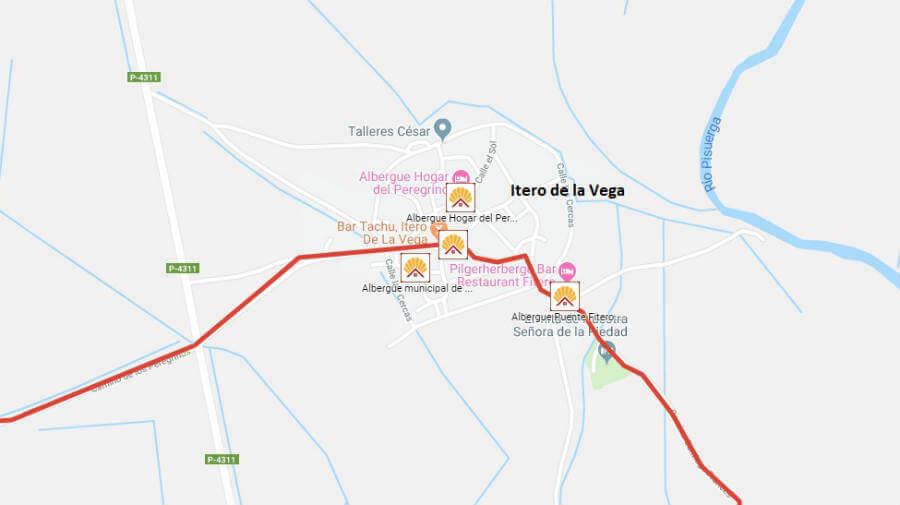 Albergues de peregrinos en Itero de la Vega, Palencia - Camino Francés :: Albergues del Camino de Santiago