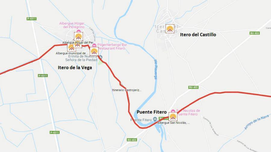 Albergues de peregrinos en Itero del Castillo, Burgos - Camino Francés :: Albergues del Camino de Santiago