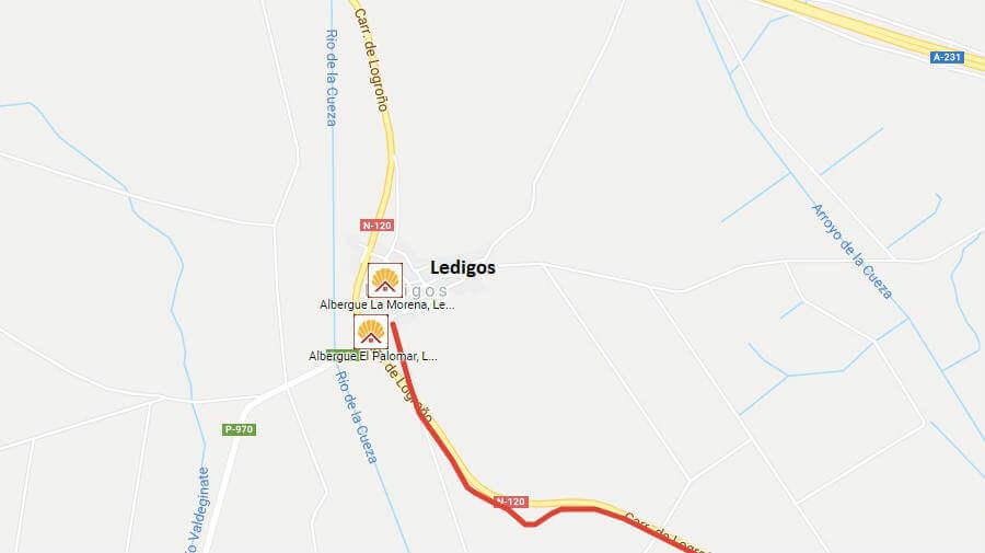 Albergues de peregrinos en Ledigos, Palencia - Camino Francés :: Albergues del Camino de Santiago