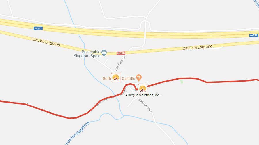 Albergues de peregrinos en Moratinos, Palencia - Camino Francés :: Albergues del Camino de Santiago