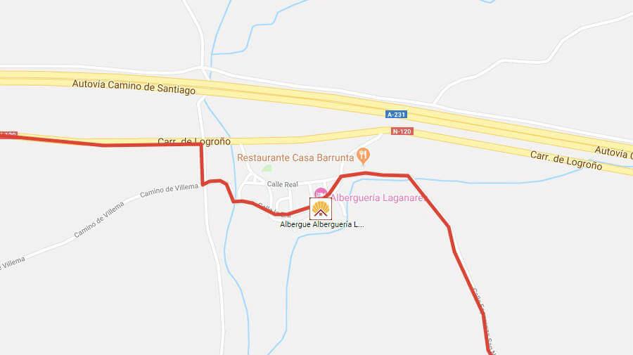 Albergues de peregrinos en San Nicolás del Real Camino - Camino Francés :: Albergues del Camino de Santiago